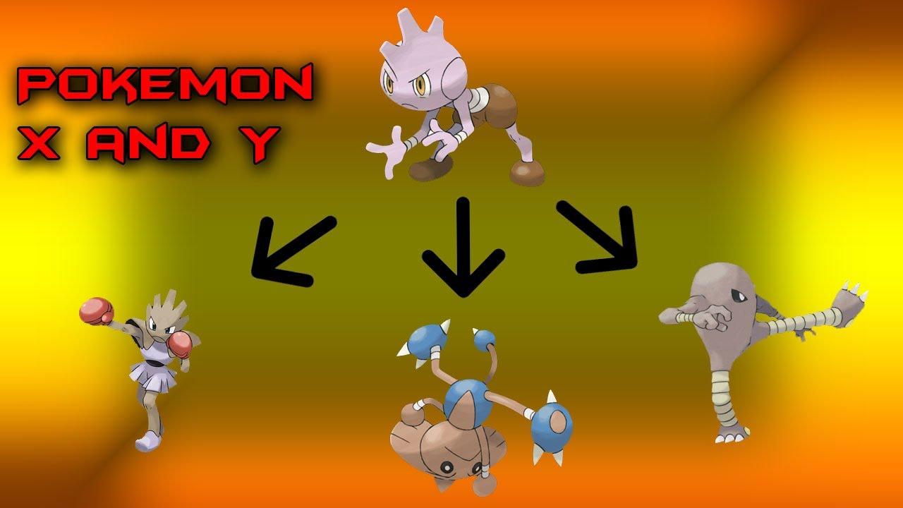 Pokemon X and Y: Hitmonchan, Hitmonlee and Hitmontop - YouTube