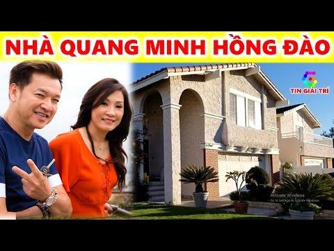 Thăm nhà của Quang Minh Hồng Đào ở Mỹ - TIN GIẢI TRÍ