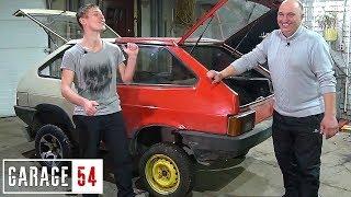 ЖОПОТАНК #2 - ЯПОНСКИЙ V6 на 200 ЛОШАДЕЙ . Гараж 54