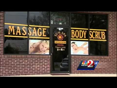 Suspicion of sex shuts down Orlando massage business
