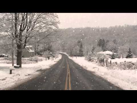 Snow Falling (Adobe after effects) windows video background DreamScene