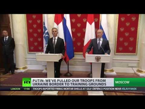 Russian troops pulled back from Ukraine border - Putin