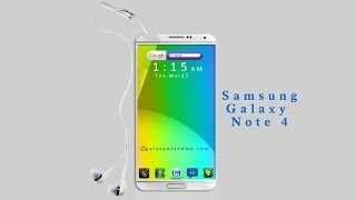 NEW Samsung Galaxy Note 4 Future Concept 2014