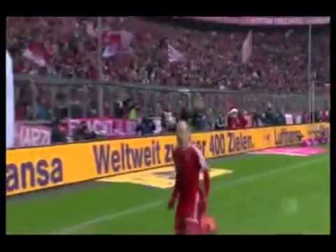 Arjen Robben celebration fail