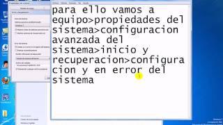 Evitar Que Salga El Pantallazo Azul (windows 7)