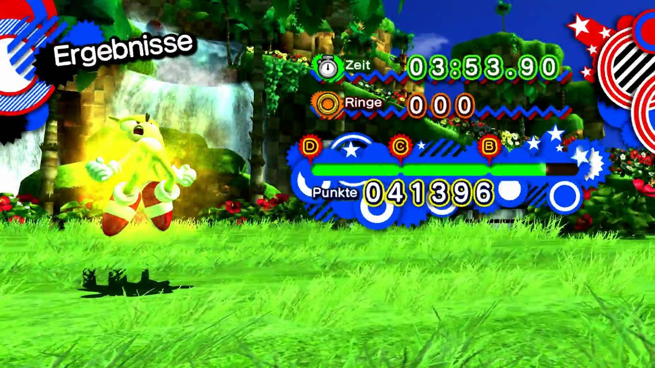 Sonic Generations Normal Ring Consumption