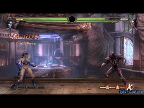 MK9 - Kitana Combo Compilation - Mortal Kombat 9 (2011)
