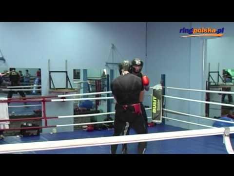 Archiwum MK: Migawka ze sparingu Albert Sosnowski - Artur Szpilka (25.03.2009)