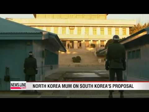 North Korea mum on South Korea's reunion proposal