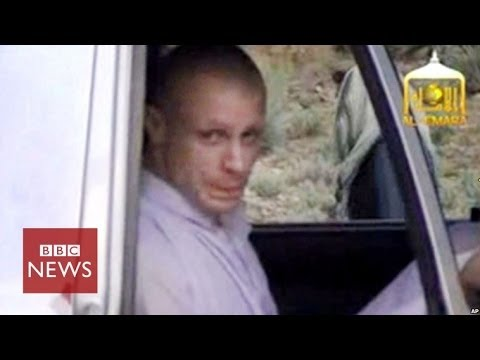 Bowe Bergdahl handover video released by Taliban - BBC News
