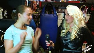 [Rose Namajunas Iconici Tv MMA Interview] Video