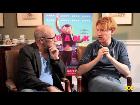 JOE meets Domhnall Gleeson & Lenny Abrahamson, star and director of fantastic new Irish film Frank