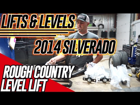Lifts & Levels: 2014 Chevy 2500HD Rough Country 3.5
