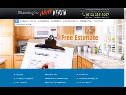 Bloomington ASAP Appliance Repair, (612) 293-2007