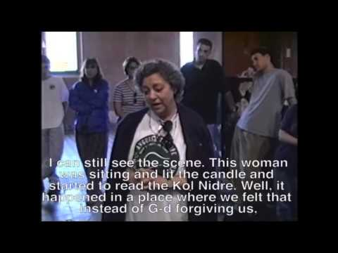Kol Nidre in Auschwitz told by Judy Weissenberg Cohen 2013 March of the Living