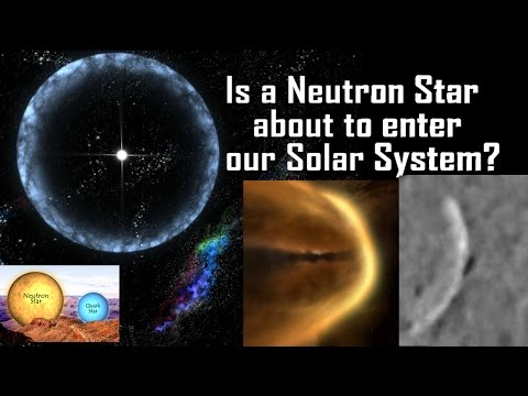 Neutron Star Inbound to our Sun? WTF is that on NASA's Satellite?!?!