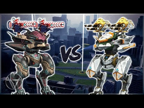 [WR] 🔥 Speedshooter Viper VS Avenger - Mk2 Maxed Comparison | War Robots
