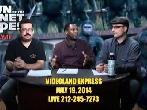 Videoland Express Live July 19, 2014 Part 1.