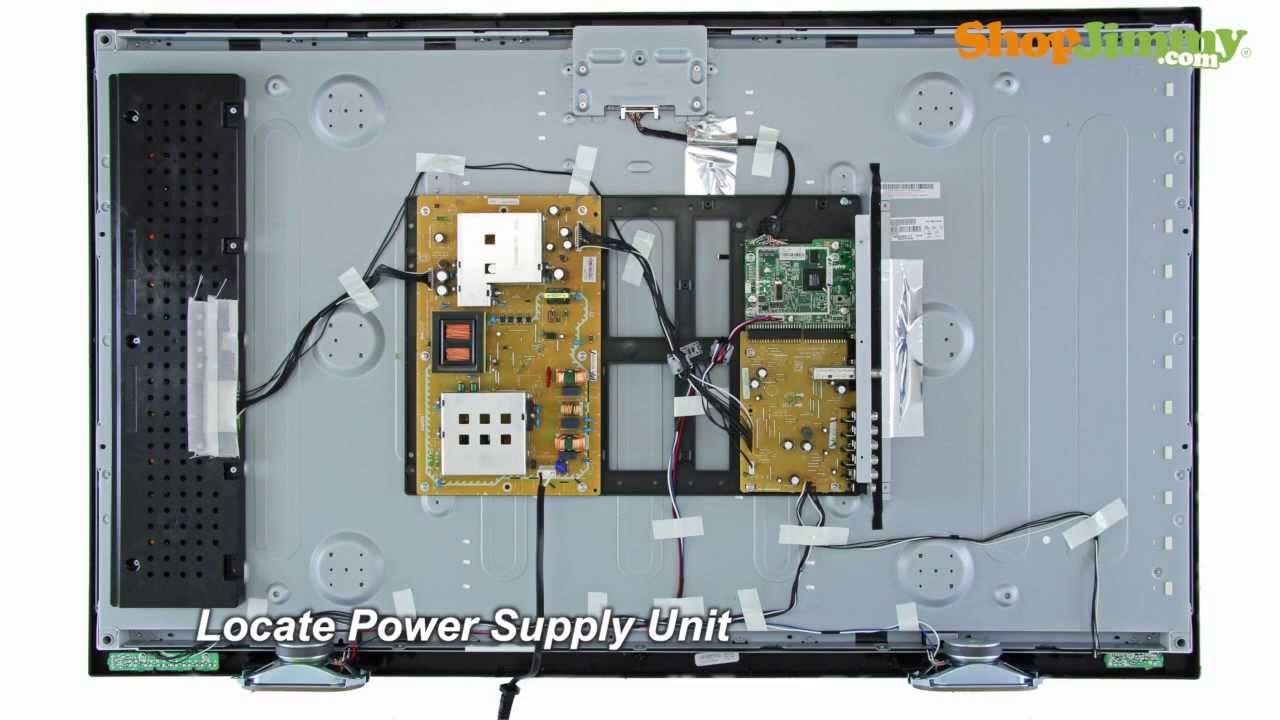 No Power on Sanyo TV Model DP42 DP46 Power Supply