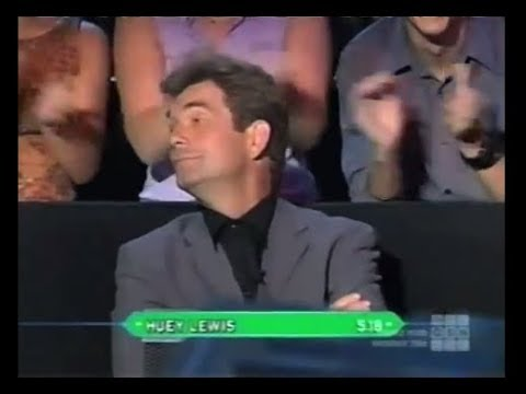Huey Lewis on Who Wants to be a Millionaire Top of the Charts (music) edition