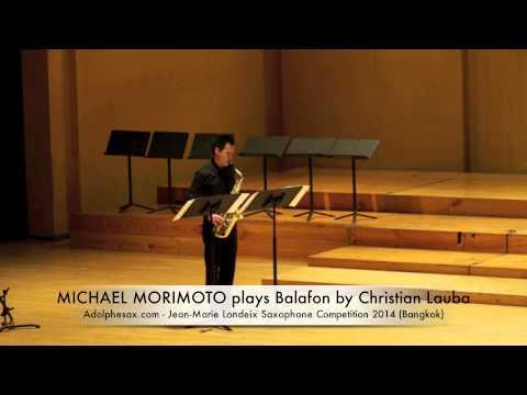 MICHAEL MORIMOTO plays Balafon by Christian Lauba