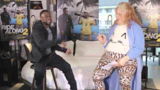 Hilarious Interview with Kevin Hart and Gerrie - Promotion Ride Along 2 - What Now Tour