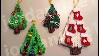How To Make A Rainbow Loom Decorated Holiday Christmas