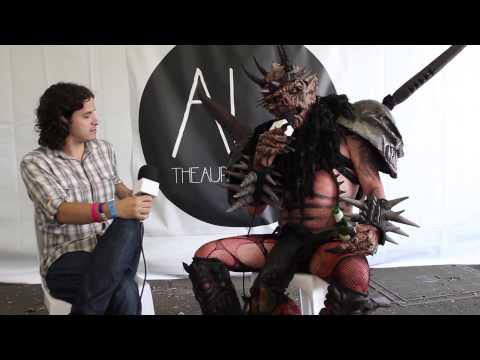 GWAR: Oderus Urungus wants to decapitate Tony Abbott... again!