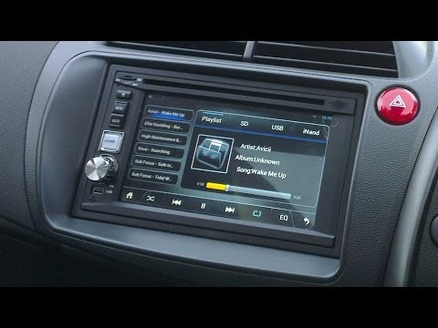 Pure Android 4.1 Car Stereo (Double Din) First Look (Mini Review)