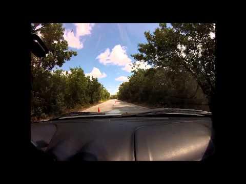 Bay Bottom Crawl Autocross Oct 2013 Spade 1999 Miata STR Class