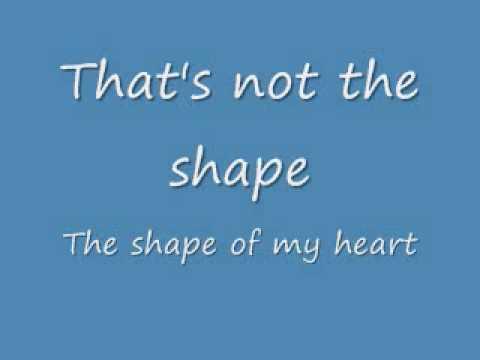 Sting shape of heart lyrics
