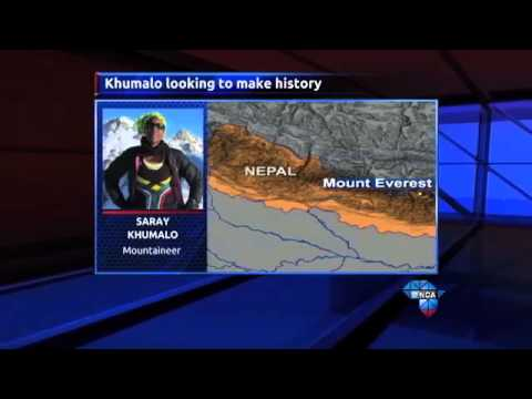 First black woman to climb Mount Everest