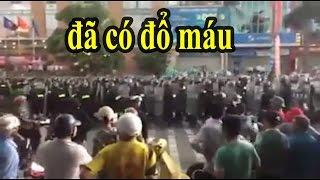 [Nóng]-Diễn Châu đã đổ máu: Chính quyền Nghệ An huy động CSCĐ An ninh đàn áp hàng ngàn dân chạy loạn