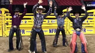 Wrangler NFR Bull Rider Dance 2015