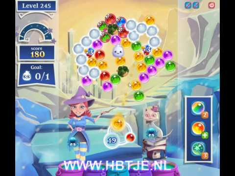 Bubble Witch Saga 2 level 245
