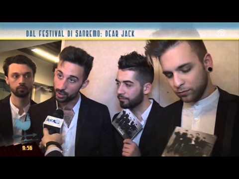 I Dear Jack al microfono di Fabio Bolzetta da Sanremo