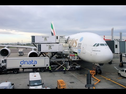 Emirates A380 London-Dubai Economy Flight Experience