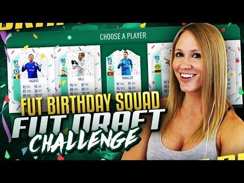 ALL FUT BIRTHDAY SQUAD FUT DRAFT CHALLENGE! FIFA 18