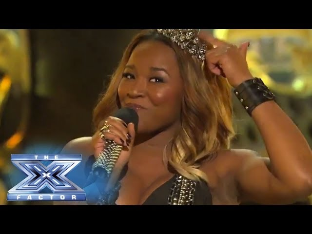 "RoXxy Montana Gives Us The ""Royals"" Treatment - THE X FACTOR USA 2013"