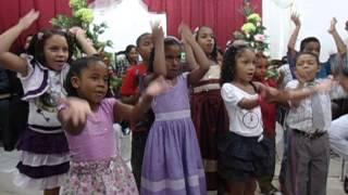 Homenagem Ao Pastor Crianças
