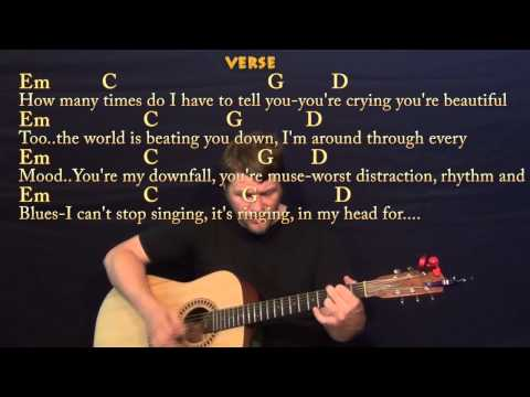 All Of Me (John Legend) Strum Guitar Cover Lesson with Chords / Lyrics
