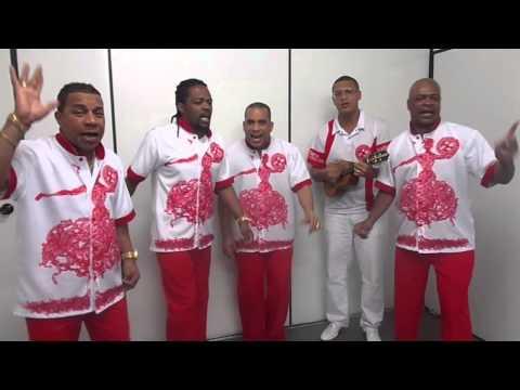 Serginho, Xande, Leonardo Bessa e Quinho cantam o samba do Salgueiro para o Carnaval de 2014