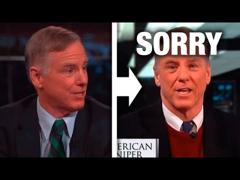 Howard Dean Puts His Tail Between His Legs Over American Sniper Comments