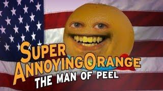 Annoying Orange Man Of Peel (Man Of Steel Superman