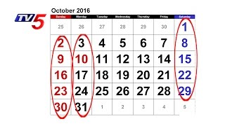 A Rare October Comes After 863 Years - 5 Saturdays, 5 Sund..