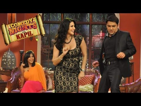 Sunny Leone's SEXY PERFORMANCE on Baby Doll Song in Comedy Nights with kapil 15th march 2014 EPISODE