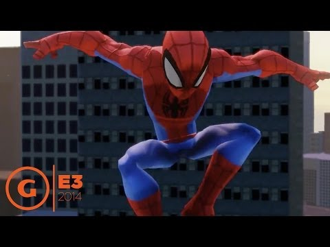 Disney Infinity 2.0 - Spider-Man Play Set  Trailer - E3 2014
