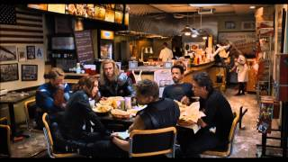 The Avengers Complete Shawarma Post Credits Scene *HD