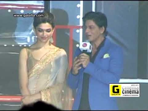 Shahrukh Khan And Deepika Padukone speak About RajiniKanth