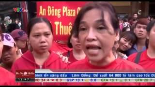 TP HCM: Hàng ngàn tiểu thương chợ An Đông biểu tình phản đối tăng giá thuê sạp hàng